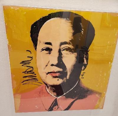 Andy Warhol- Mao Tse Tung