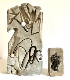 Jill Bourner Concrete Composition