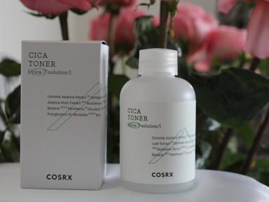 COSRX Cica toner Тонер для лица с центеллой азиатской в составе