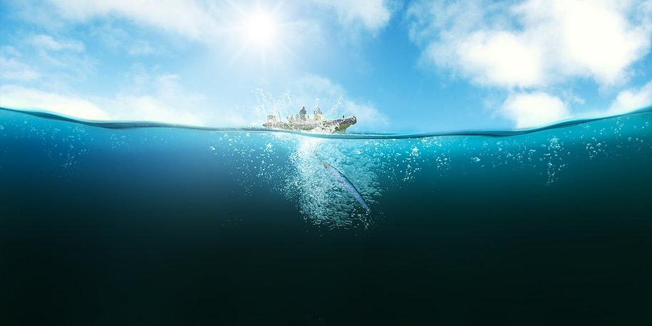 peche en mer sur l'ile de ré