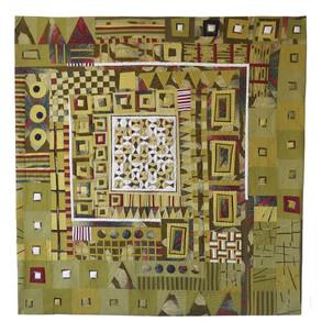 "African Treasure, 2020   49""h x 51""w"