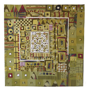 "African Treasure, 2020 | 49""h x 51""w"