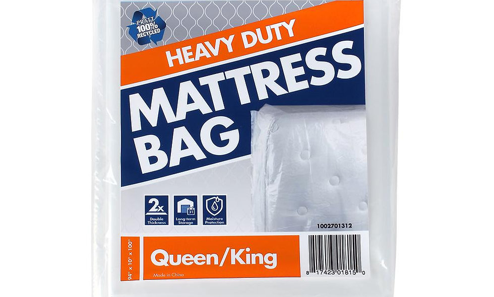 Heavy Duty King Mattress Bag