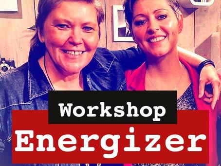 Workshop : ENERGIZER op zaterdag 15 februari 2020  (14u-16u)