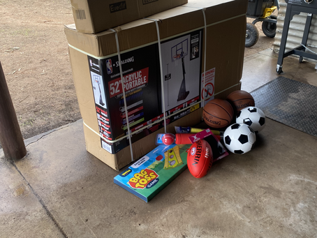 Our Sport Equipment has Arrived!