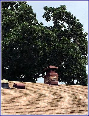 New custom chimney chase cover_
