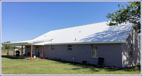metal roof 26 gauge white reflective SSP, Weatherford, TX