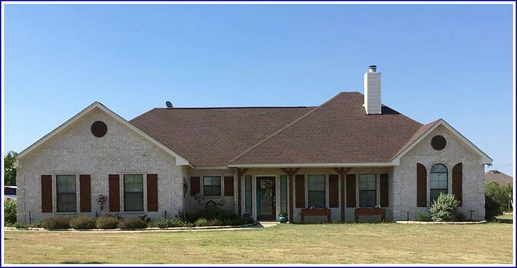 hickory architectural shingle roof Weatherford TX