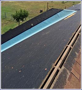open ridge vent using frost free water barrier shield