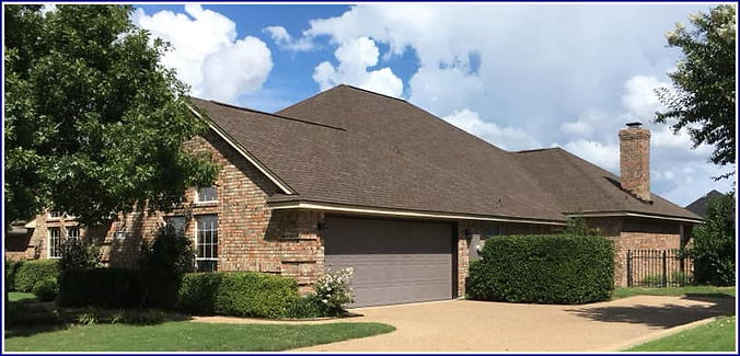 Composite shingle roof Tarrant County TX