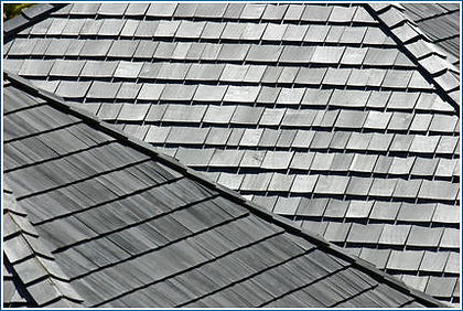 Metal Shingled roof
