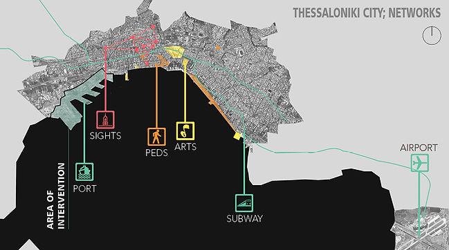 Thessaloniki city networks