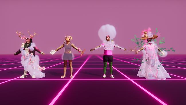 Team screenshot in Unity