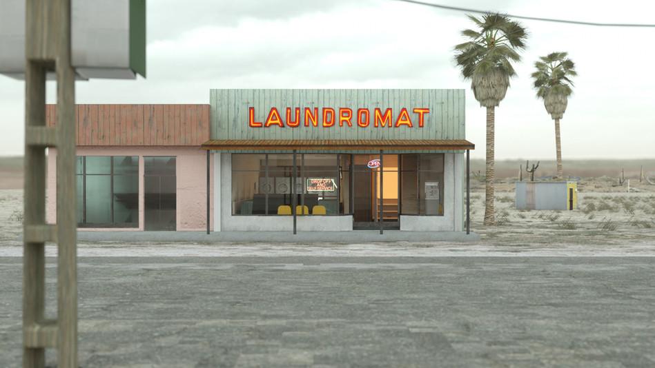 Small laundromat