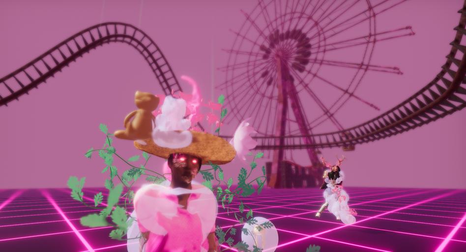 Game screenshot in Unity