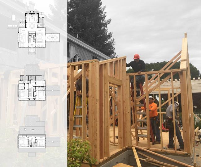Construction site & floor plans