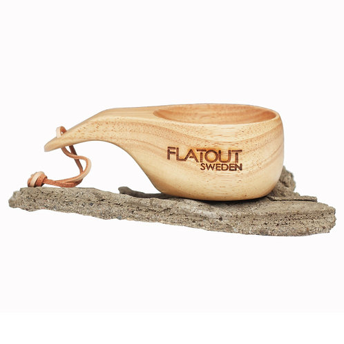"FlatOut Sweden Wood cup ""Kåsa"""