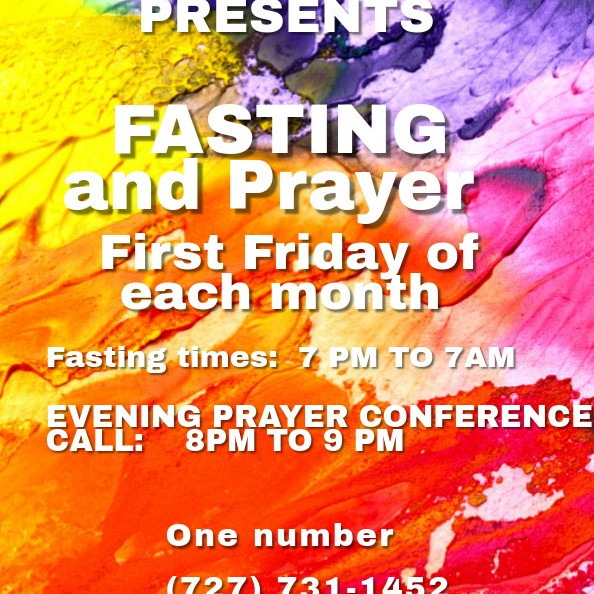 1st Friday Fasting