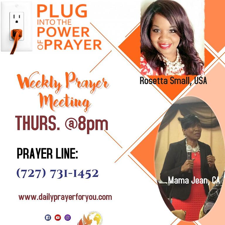 Thursday Night Prayer  (1)