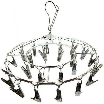 24 clip Herb Drying Rack