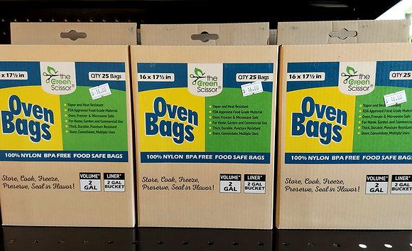 The Green Scissor Oven Bags