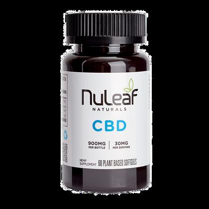 NuLeaf Organic CBD Soft Gels - 20ct