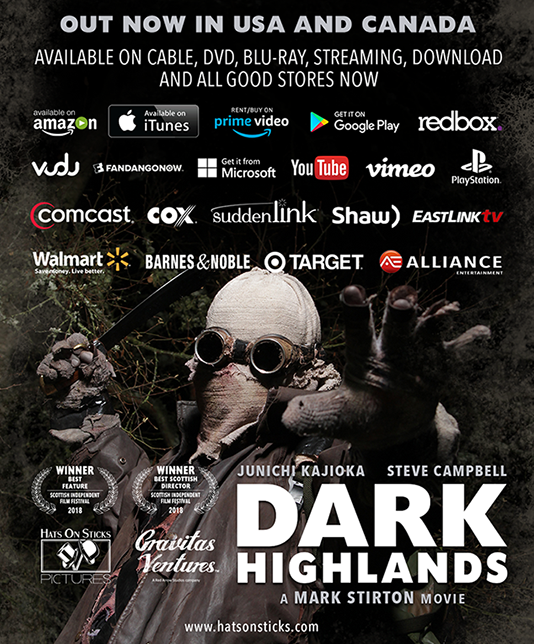Dark Highlands distribution flyer