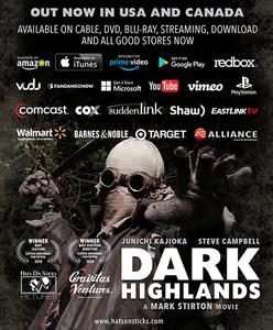 Dark Highlands distribution flyer