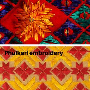 Phulkari from Punjab India