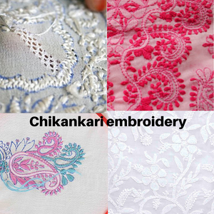 chikankari embroidery by fiachic