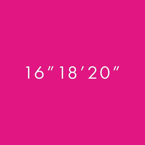 "16"",18"",20"""