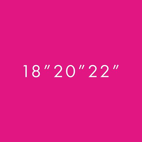 "18"",20"",22"""
