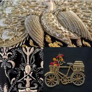 zardozi embroidery from lucknow