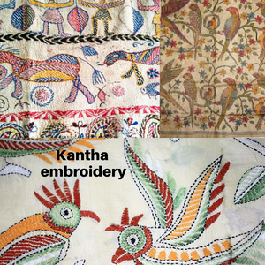 kantha embroidery by fiachic