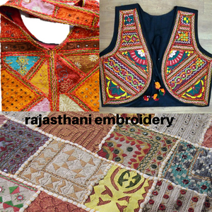 rajasthani embroidery by fiachic
