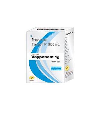Vaypenem 1g meropenem injectin IP 1000 mg