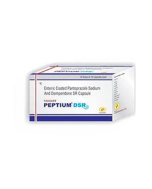 Peptium-DSR pantoprazol sodiu & domperidone sr capsule