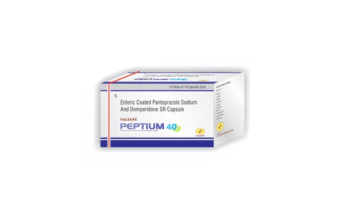 Valiant life sciences Peptium 40 tablet