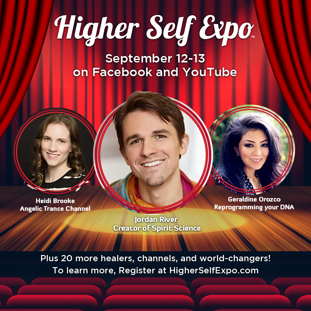 Higher Self Expo SQUARE Featured Speaker