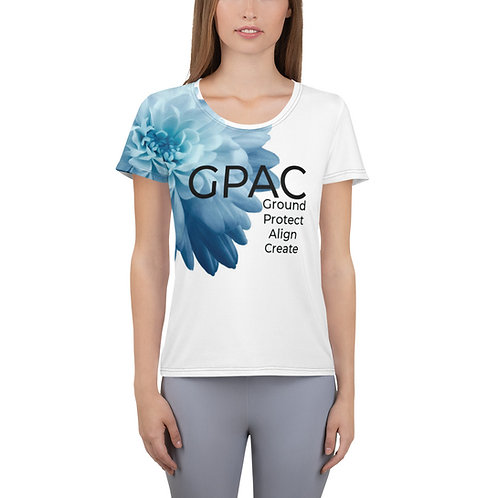 All-Over Print Women's Athletic T-shirt