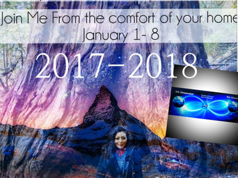 New Years 8 Day Cyber Meditation Retreat + 3 day silent retreat - Join me Jan 1-8