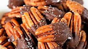 Chocolate Dipped Pecans