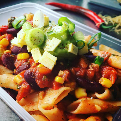 Taco penne pasta with vegan cheese gf vegan meal delivery taco penne pasta with vegan cheese gf vegan meal delivery tauranga new zealand v on wheels forumfinder Gallery