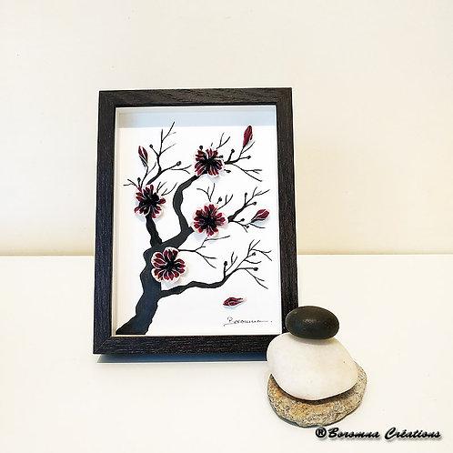 Petit Tableau Zen Sakura