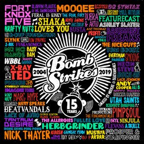 Bombstrikes: 15 Years (Curated By Mooqee & Beatvandals)