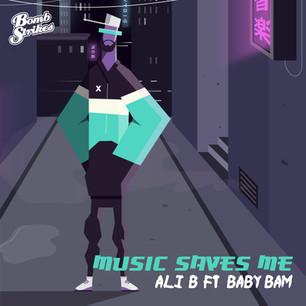 Ali B Ft. Baby Bam - Music Saves Me