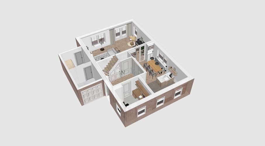 Nieuwbouwwoning in jaren 30 stijl - Zevenhuizen