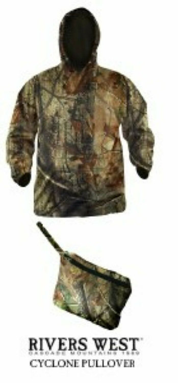 Rivers west Cyclone Pullover Camo Jacket