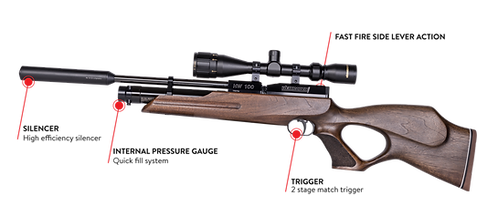 Weihrauch HW100 KT Pre-Charged Air Rifle