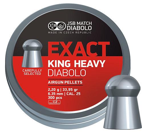 JSB Exact King Heavy 25 cal